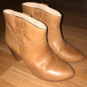 Rebecca minkoff booties. Size 6 chestnut